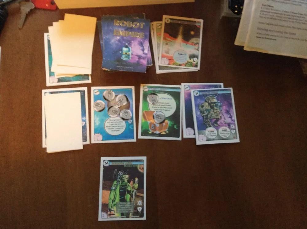 Robot Empire common cards