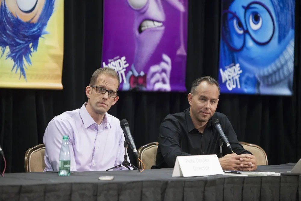 INSIDE OUT Press Conference  with director Pete Docter and producer Jonas Rivera.