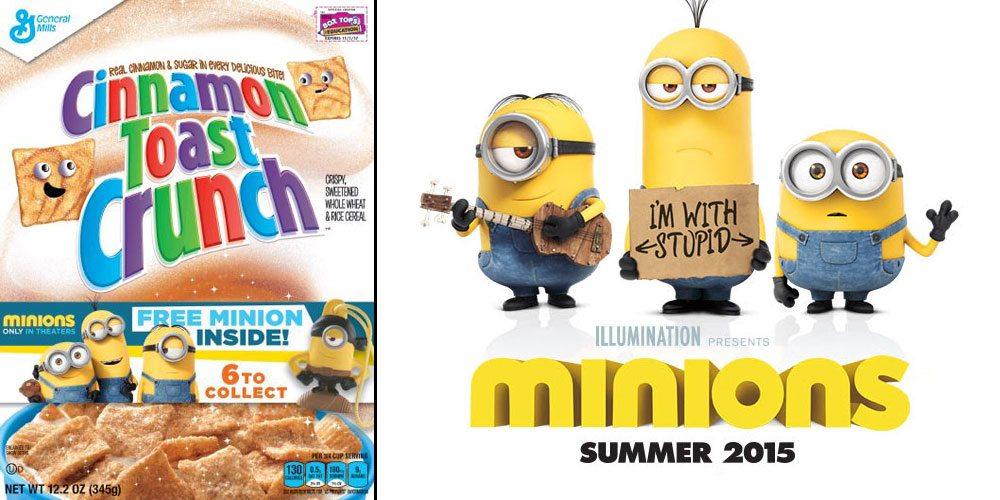 Giveaway: Minions in Your Cereal Box!