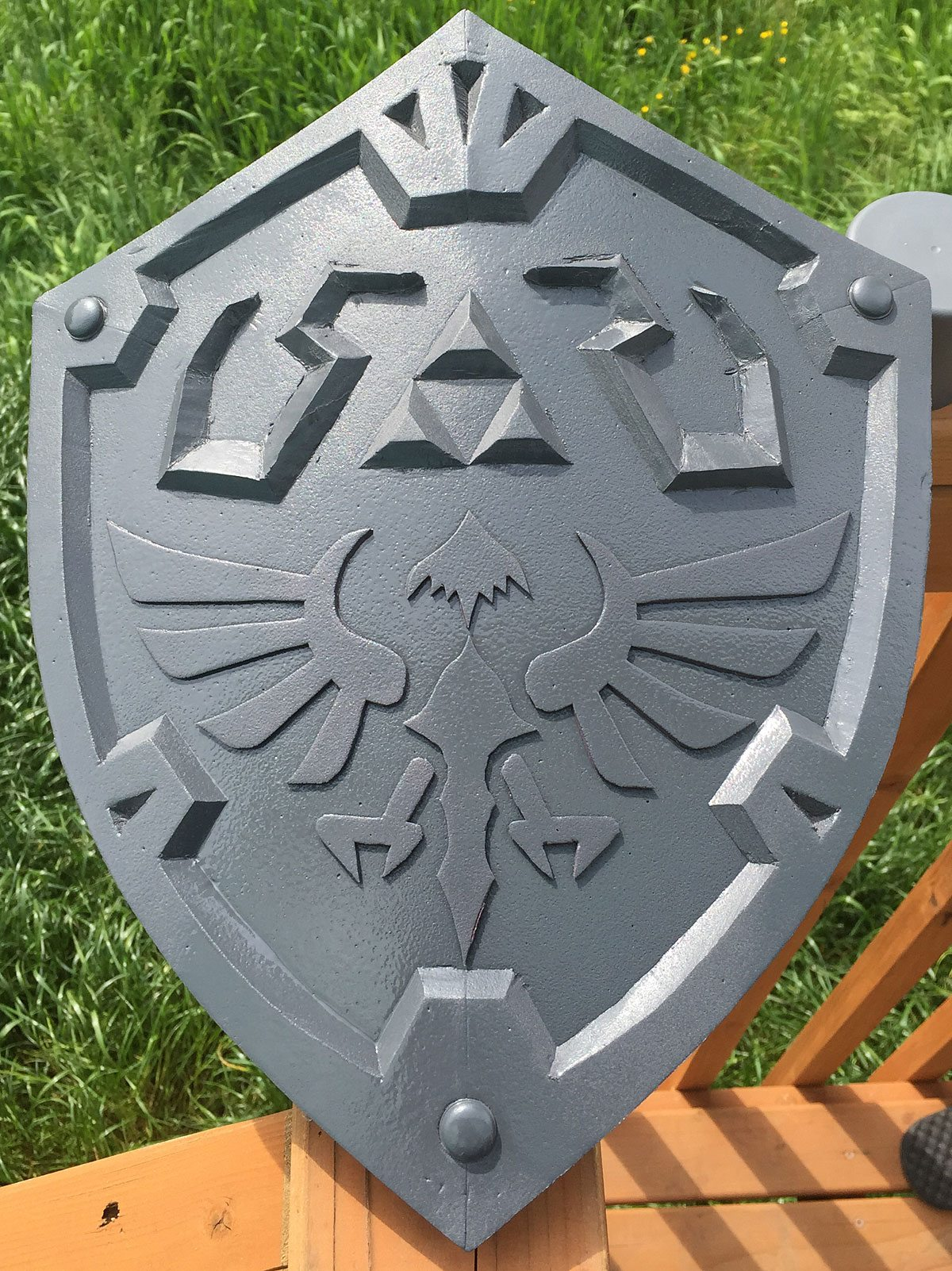 My First Foamsmithing: Link's Hylian Shield