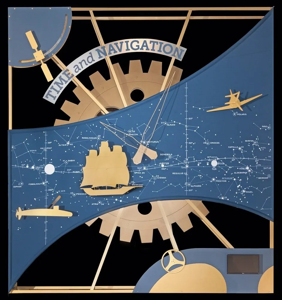 From the Time and Navigation exhibit at the National Air and Space Museum. Image: Smithsonian