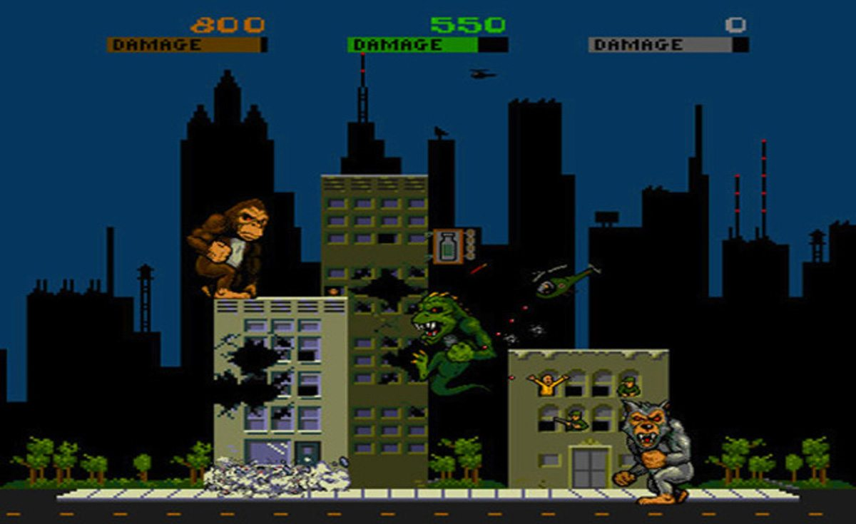 'Rampage' Video Game