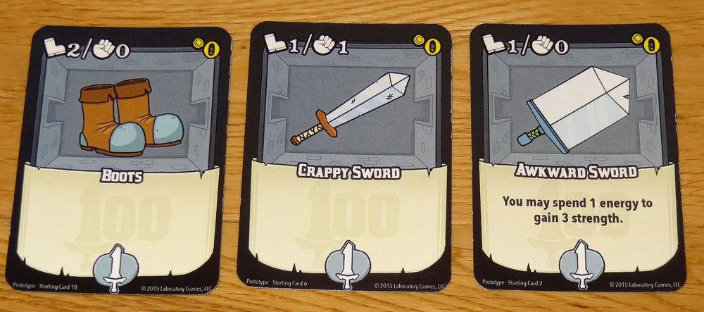 100 Swords starting cards