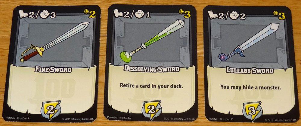 100 Swords sword cards