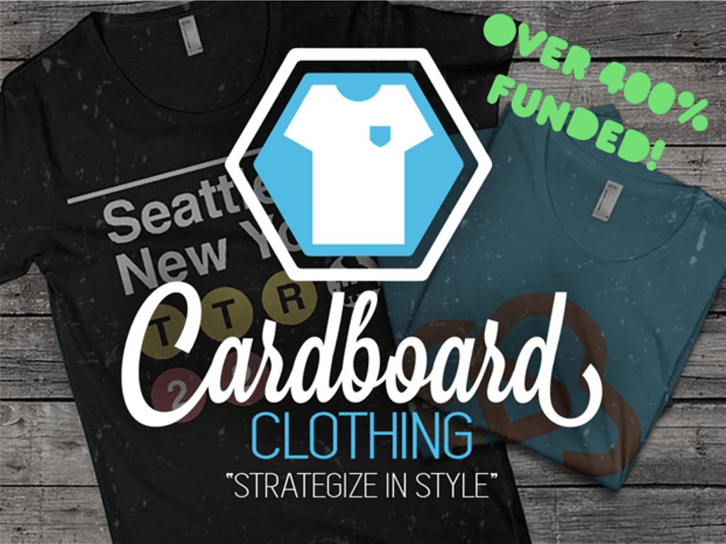 Cardboard Clothing
