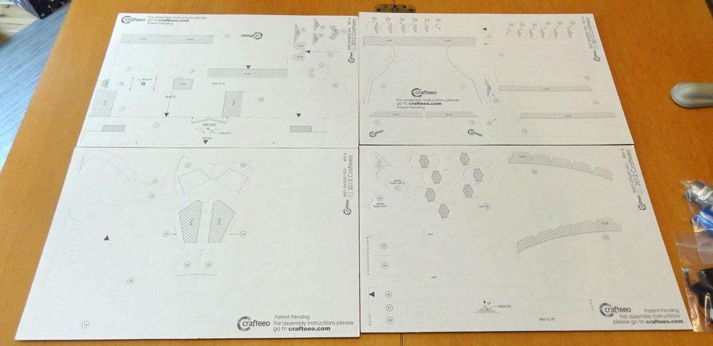Crafteeo Sheets