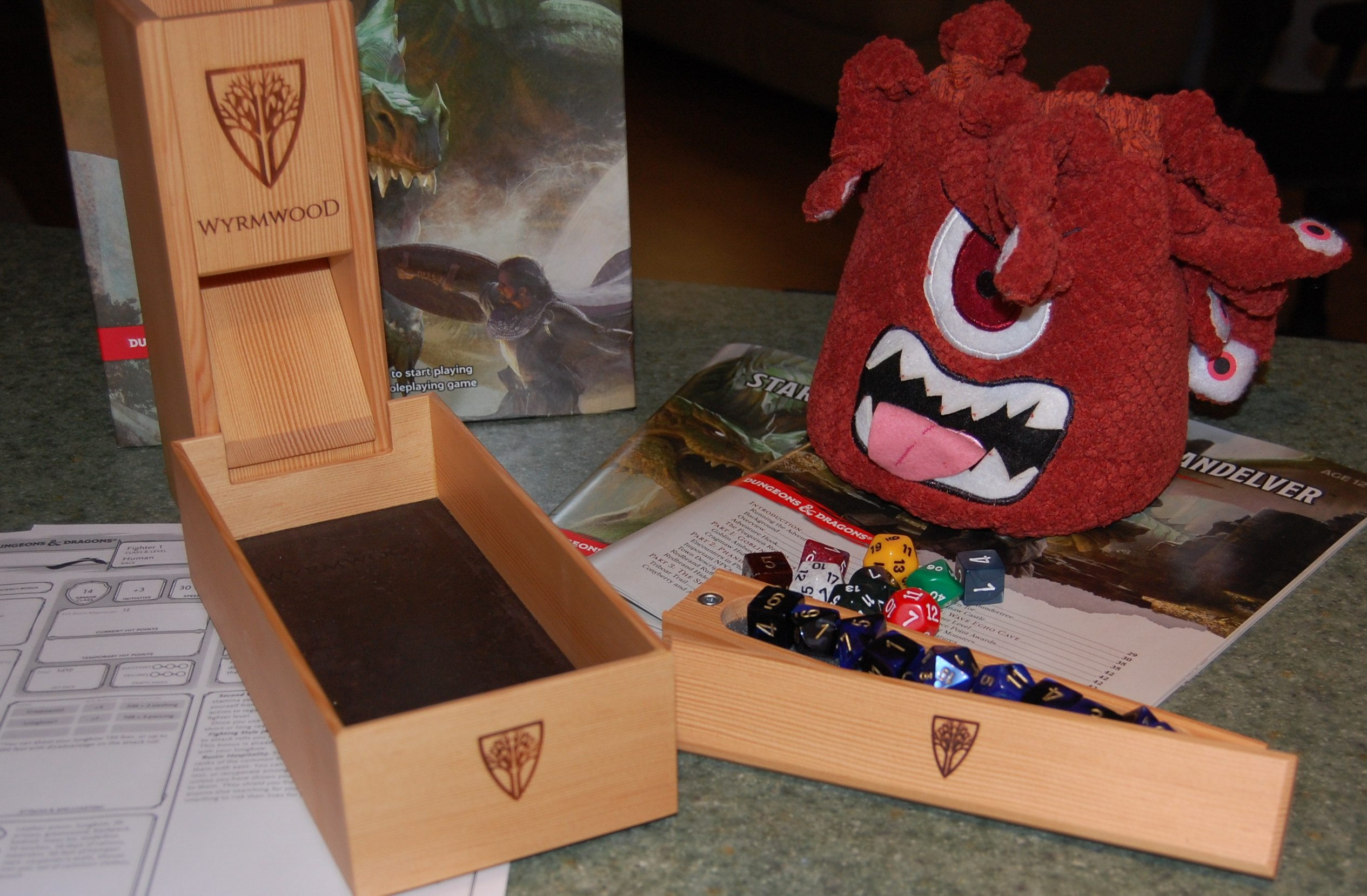 Beholder Dice Bag not Included
