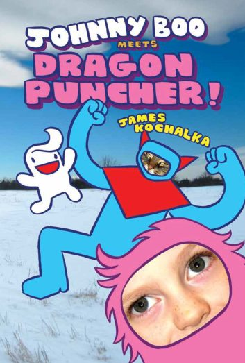 Johnny Boo Meets Dragon Puncher cover design