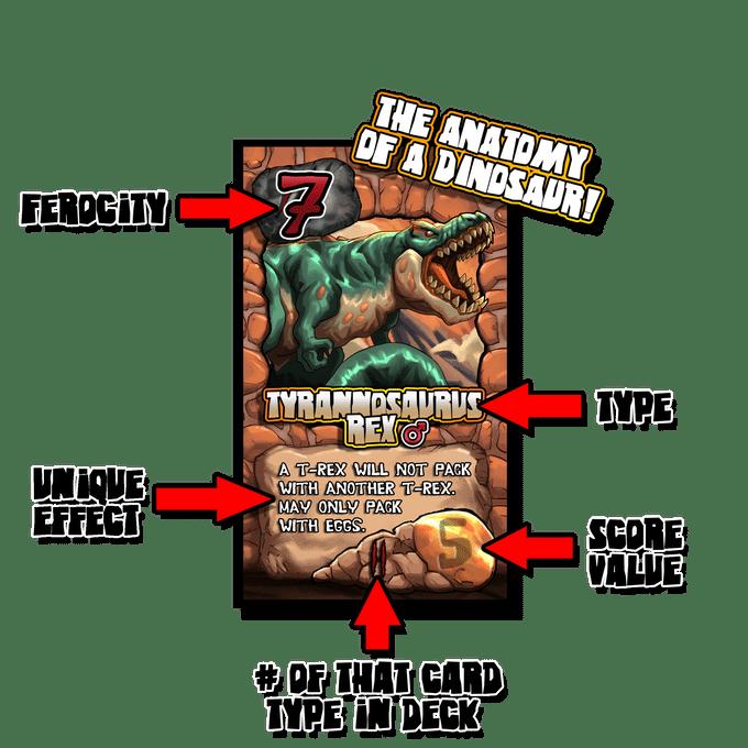 JurassAttack card details