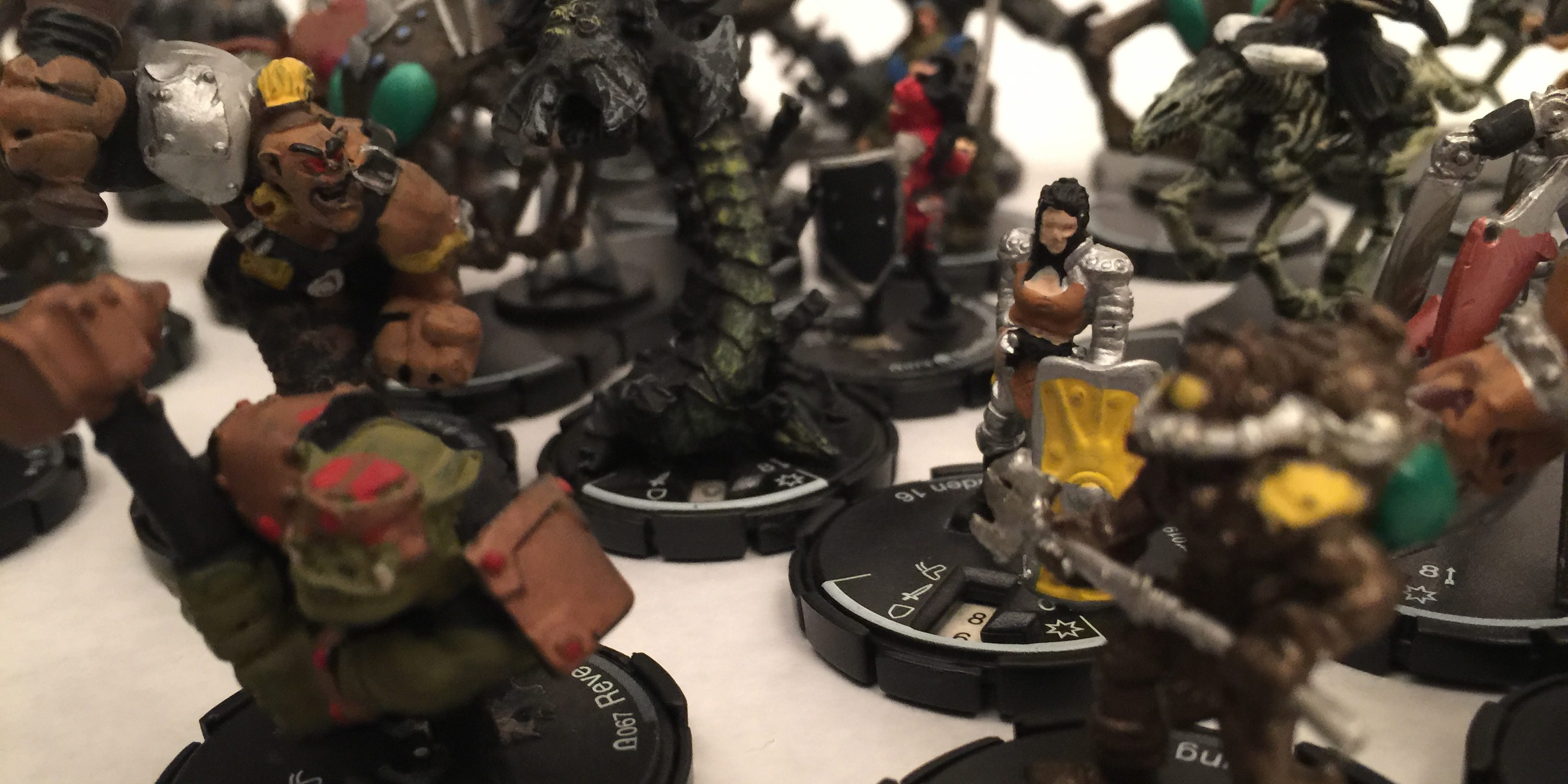 Mage Knight Figures