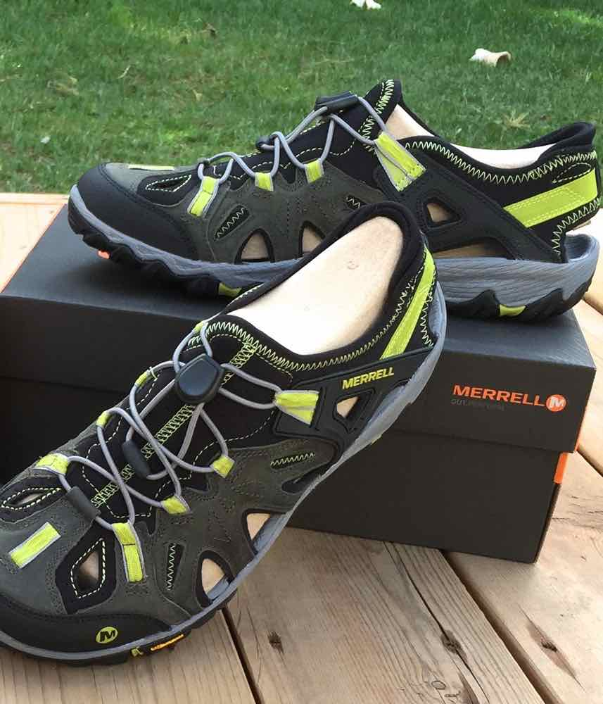 Merrell All Out Blaze Sieve hiking and water shoes