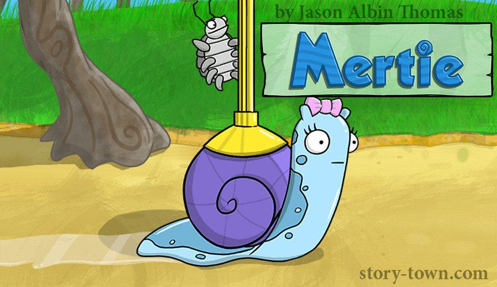 """Mertie"" a new installment for Story Town by artist Jason Albin Thomas."