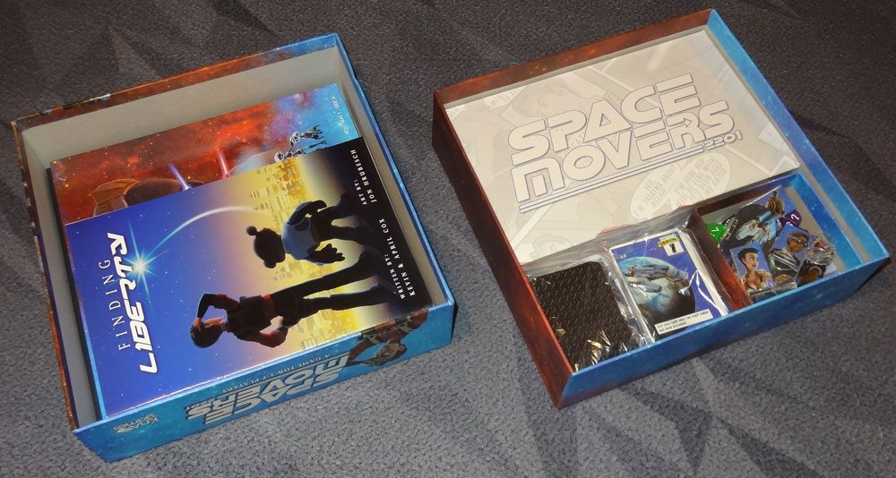 Space Movers box