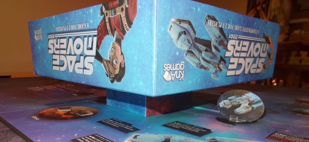 Space Movers box stand