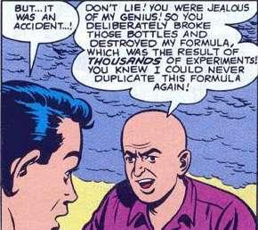Lex is one bitter kitten. Source: DC Comics.