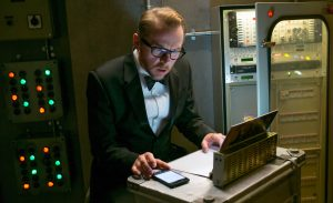 Benji Dunn (Simon Pegg) Not just for comedy relief anymore. © 2015 Paramount