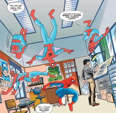 This makes the Clone Saga almost look good. Copyright: Marvel Comics.
