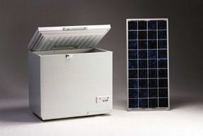 Sundanzer's solar cooler