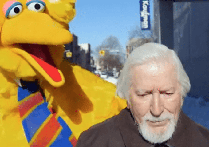 Carrol Spinney as Big Bird