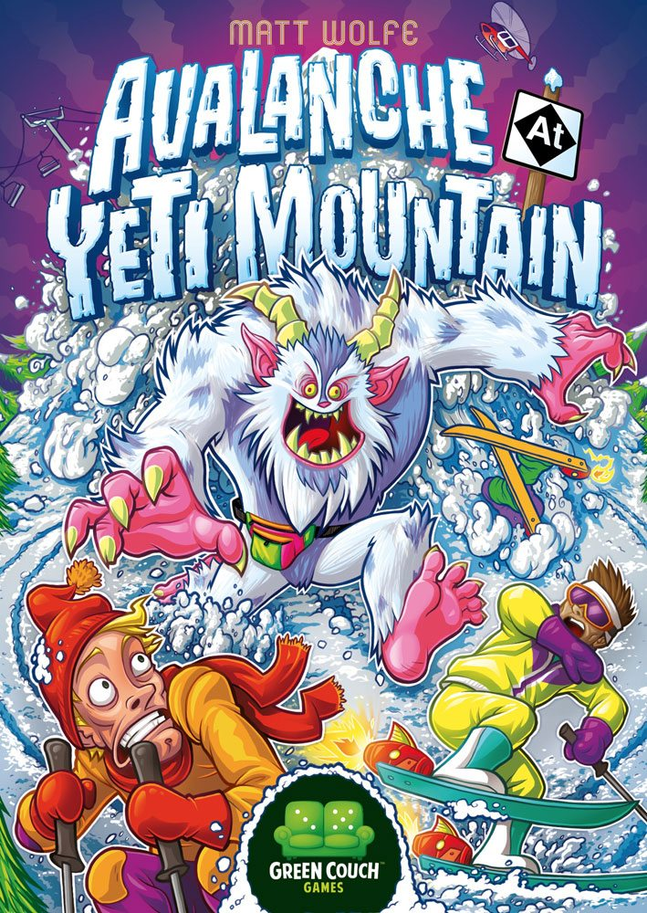 avalanche at yeti mountain