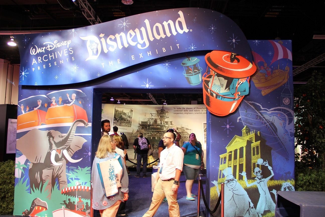 Walt Disney Archives Disneyland Exhibit – Visual Walkthrough