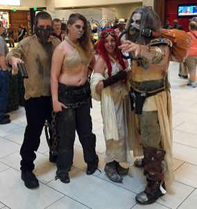 There were many Fury Road cosplay groups.
