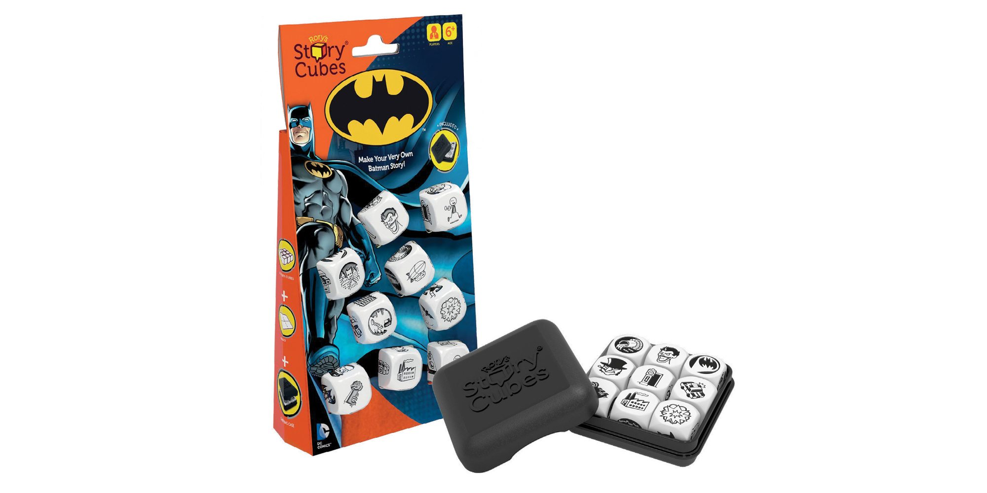 Make Your Very Own Batman Story With 'Rory's Story Cubes: Batman'