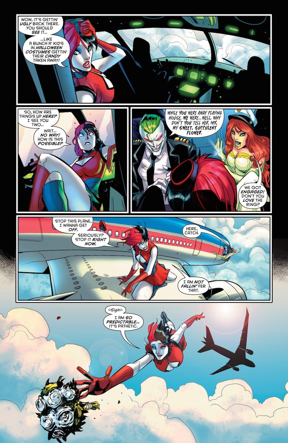Harley Quinn, Hal Jordan