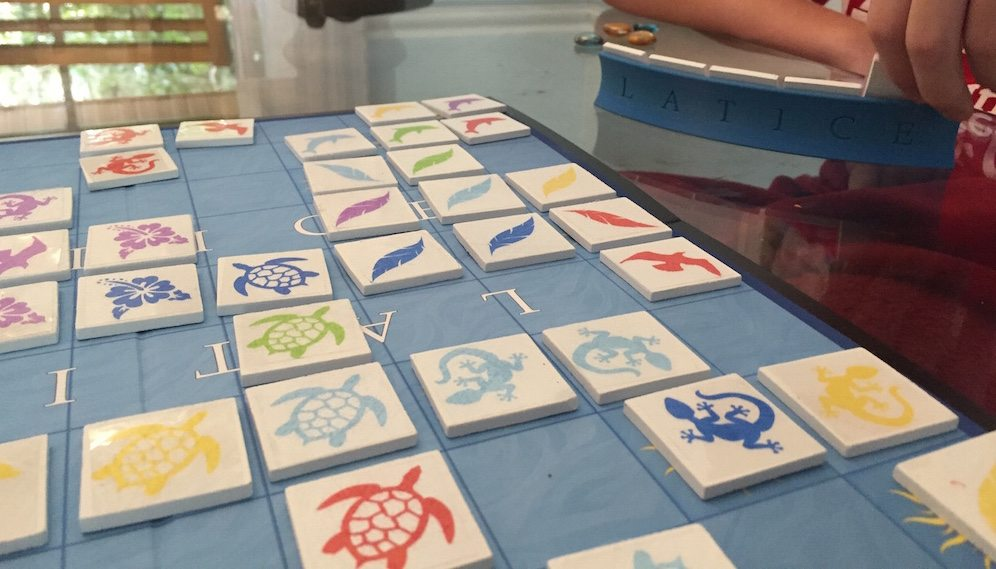 Kickstarter Tabletop Alert: 'Latice' Board Game