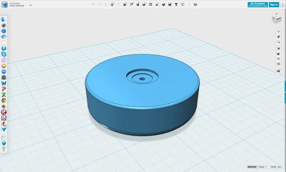 3DPrint-Yoyo-123dDesign