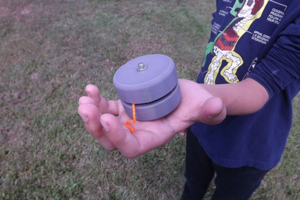Design and 3D Print a Yo-Yo With Kids