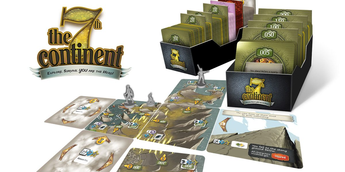 Table for One Kickstarter Alert: '7th Continent'
