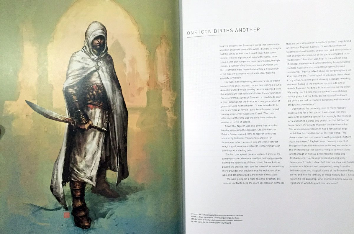Review: 'Assassin's Creed: The Complete Visual History ...