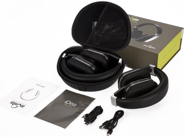 Everything you get with AtomicX headphones