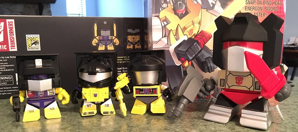 The Loyal Subjects 'Transformers' Review and Giveaway