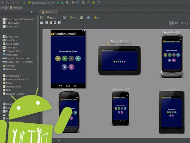 Learn-by-Example Android Developer Course