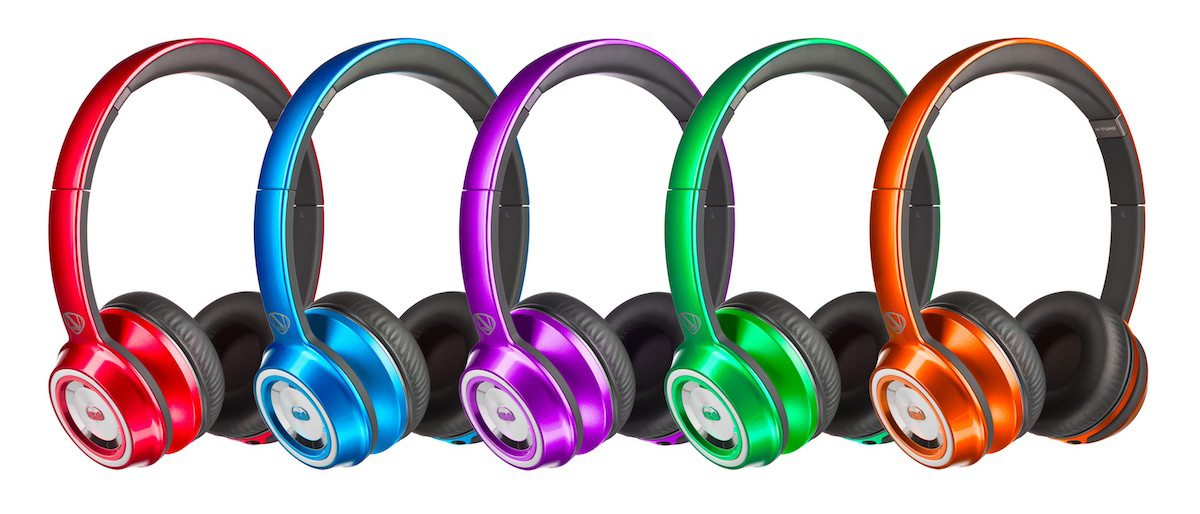 Rainbow of Monster headphones