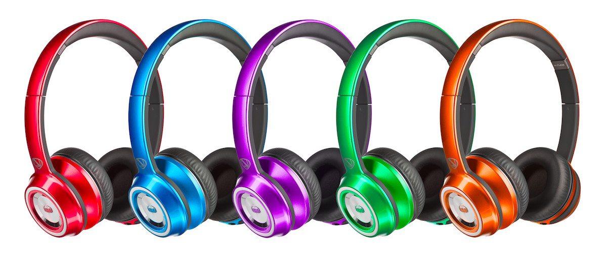 Rainbow of Monster headphones