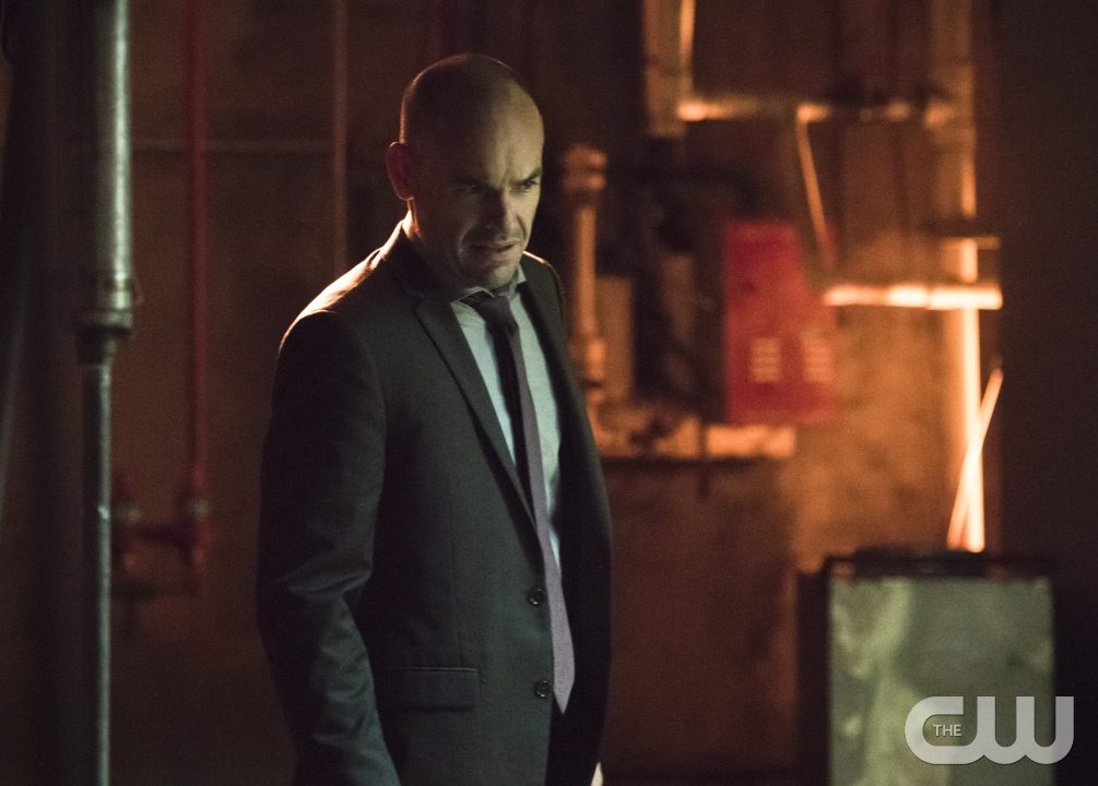 """Arrow -- """"Beyond Redemption"""" -- Image AR405B_0150b.jpg -- Pictured: Paul Blackthorne as Quentin Lance -- Photo: Dean Buscher/ The CW -- �© 2015 The CW Network, LLC. All Rights Reserved."""