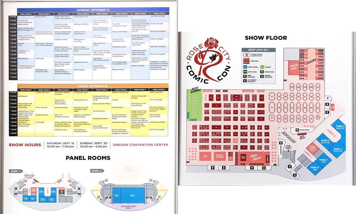 RCCC-schedule