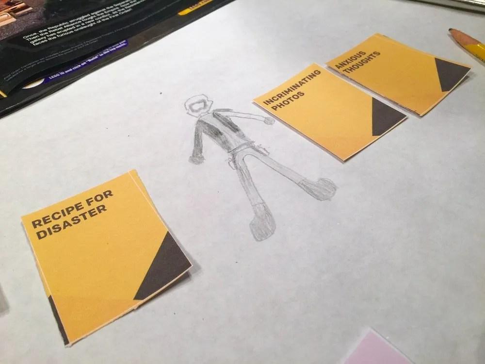 Skip Trace Play - Drawn Bounty Hunter