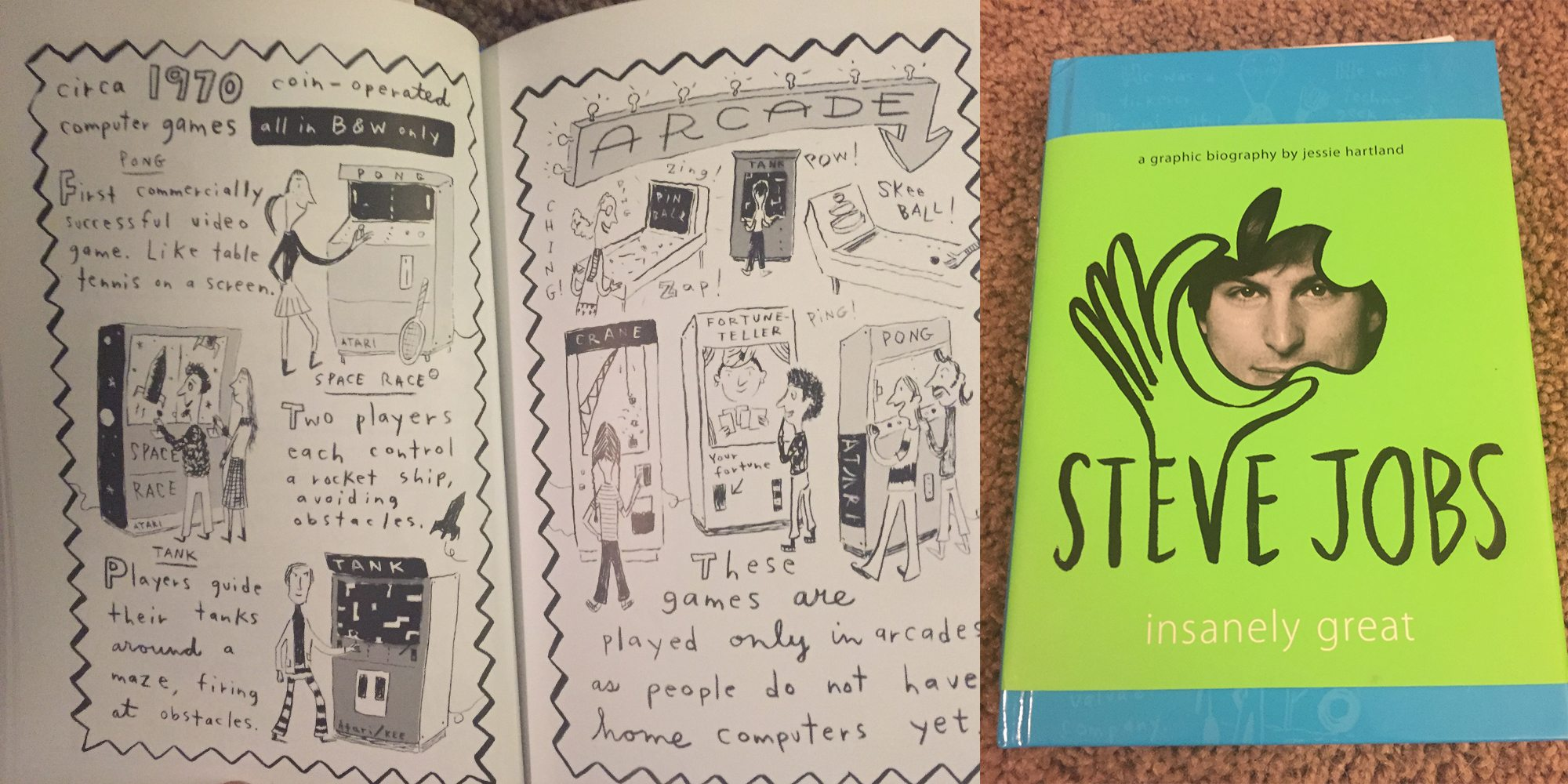 Steve Jobs Graphic Bio Is Insanely Great… For Older Kids