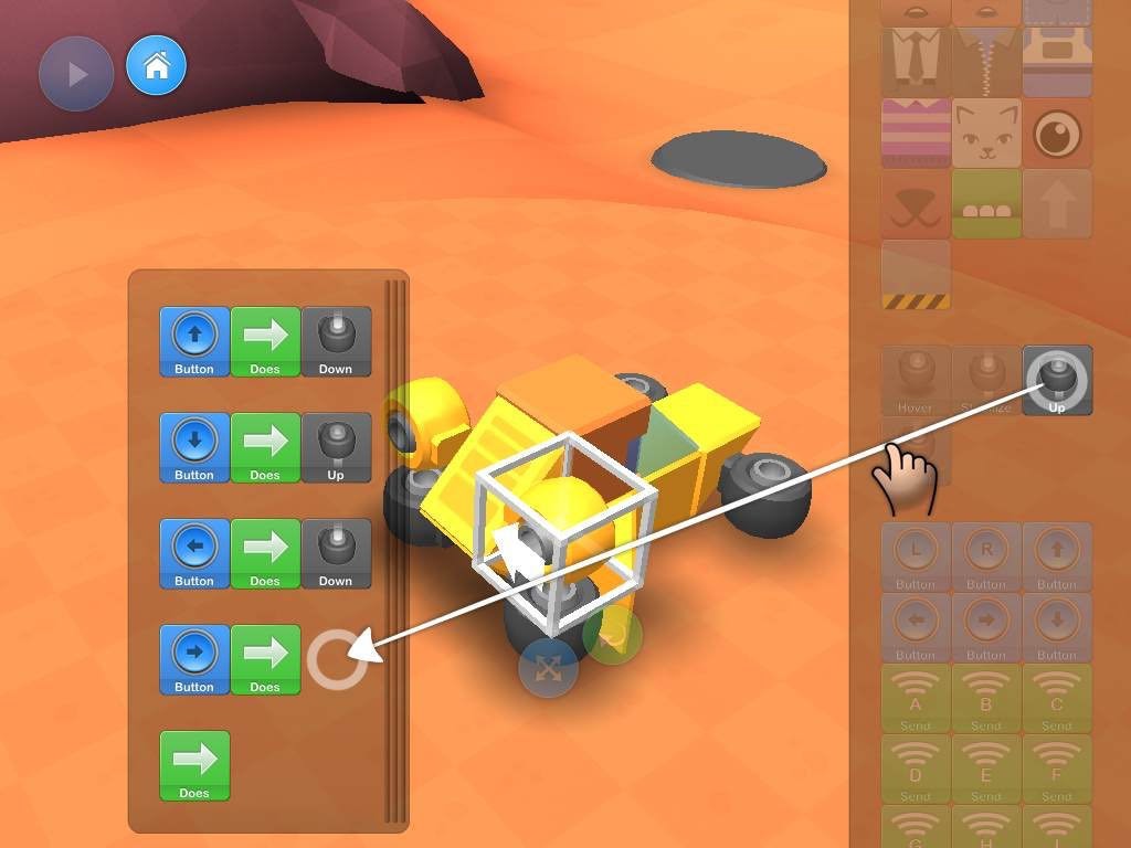 Blocksworld editor. Photo courtesy of Linden Lab