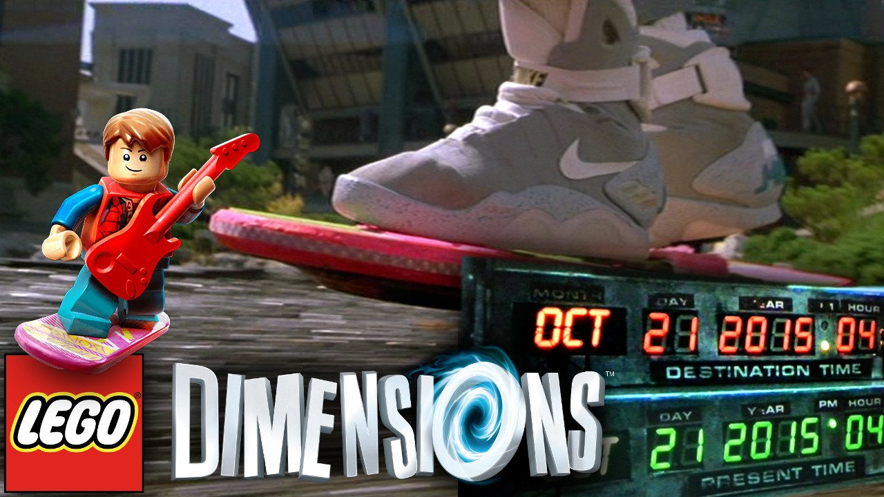 Celebrate Back to the Future Day With Dad's 'Lego Dimensions' Song