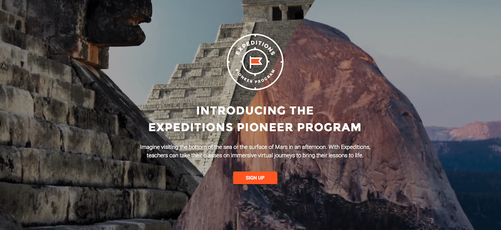 Google Expeditions Program