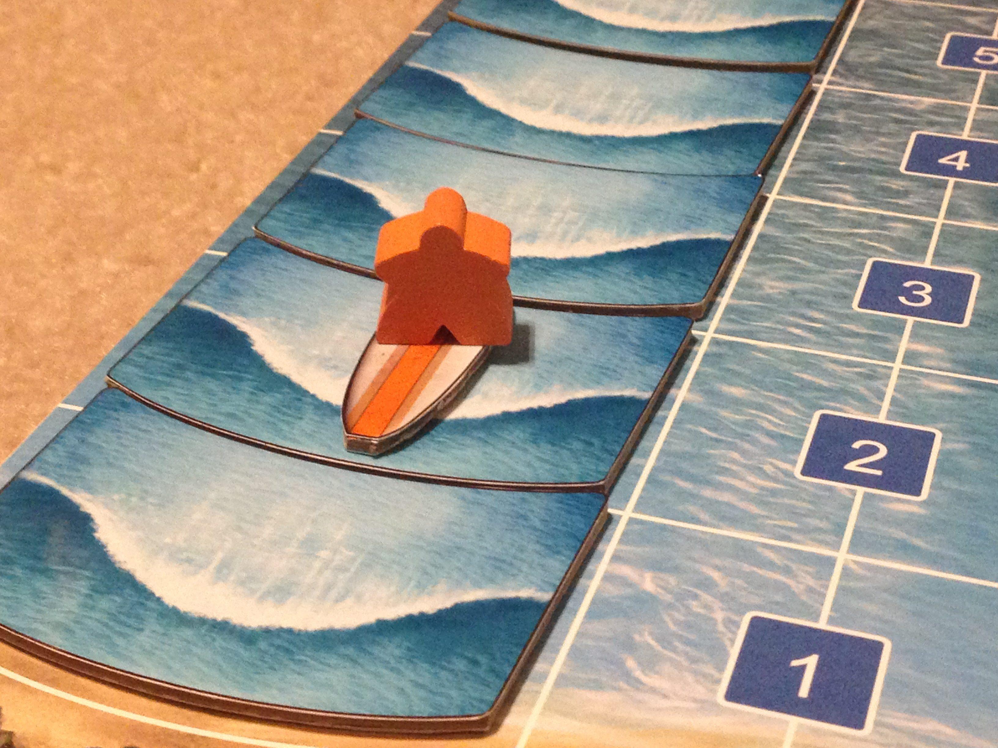 New Kickstarter Boardgame Preview – 'Tavarua' Surfing Competition