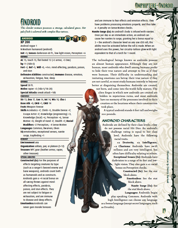 Pathfinder Bestiary 5': Baddies From Filth Licker to