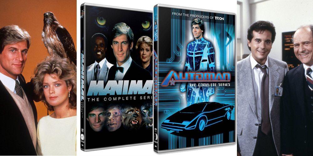 Manimal & Automan DVD Release