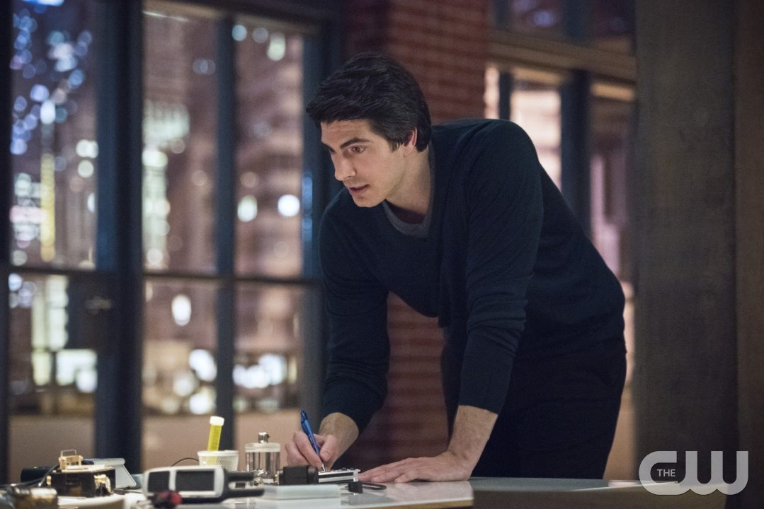 "Arrow -- ""Brotherhood"" -- Image AR407A_0336b.jpg -- Pictured (L-R): Brandon Routh as Ray Palmer -- Photo: Dean Buscher/The CW -- �© 2015 The CW Network, LLC. All Rights Reserved."