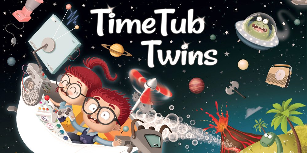 Time Tub Twins Book Cover
